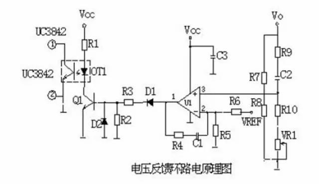 1,反馈电路原理图